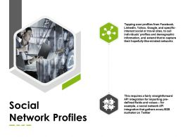 Social Network Profiles Puzzle Marketing Ppt Powerpoint Presentation Infographics Microsoft