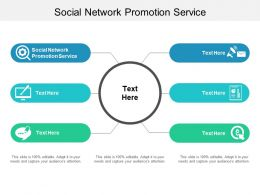 Social Network Promotion Service Ppt Powerpoint Presentation Gallery Ideas Cpb