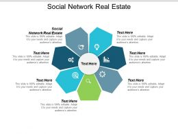 Social Network Real Estate Ppt Powerpoint Presentation Infographic Template Format Cpb