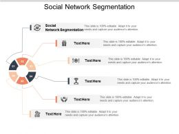 Social Network Segmentation Ppt Powerpoint Presentation Infographic Template Ideas Cpb