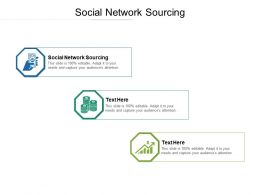 Social Network Sourcing Ppt Powerpoint Presentation Outline Grid Cpb