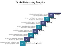 Social Networking Analytics Ppt Powerpoint Presentation Infographics Objects Cpb
