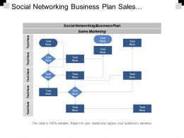 Social Networking Business Plan Sales Marketing Financial Services Cpb
