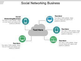 Social Networking Business Ppt Powerpoint Presentation Gallery Microsoft Cpb