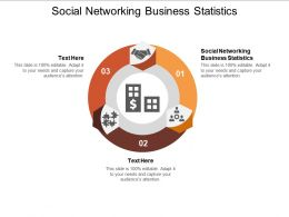 Social Networking Business Statistics Ppt Powerpoint Presentation Professional Slide Download Cpb
