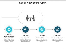 Social Networking CRM Ppt Powerpoint Presentation Gallery Slide Download Cpb
