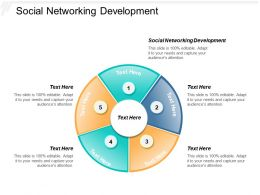 Social Networking Development Ppt Powerpoint Presentation Model Guide Cpb