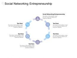 Social Networking Entrepreneurship Ppt Powerpoint Presentation Slide Cpb