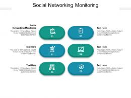 Social Networking Monitoring Ppt Powerpoint Presentation Styles Clipart Images Cpb