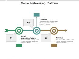 Social Networking Platform Ppt Powerpoint Presentation Visual Aids Icon Cpb