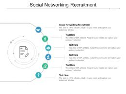 Social Networking Recruitment Ppt Powerpoint Presentation Slides Aids Cpb
