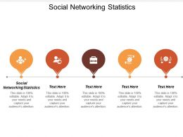 Social Networking Statistics Ppt Powerpoint Presentation Icon Examples Cpb
