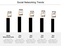 Social Networking Trends Ppt Powerpoint Presentation Gallery Inspiration Cpb