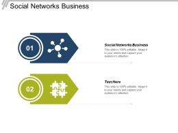 Social Networks Business Ppt Powerpoint Presentation File Gridlines Cpb