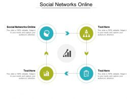Social Networks Online Ppt Powerpoint Presentation Ideas Infographics Cpb