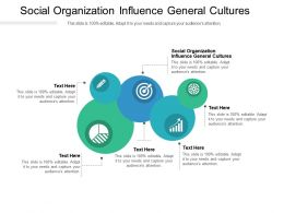 Social Organization Influence General Cultures Ppt Powerpoint Presentation Gallery Ideas Cpb