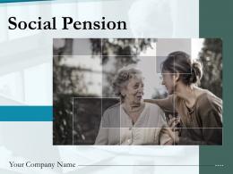 Social Pension Powerpoint Presentation Slides