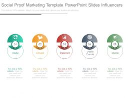 Social Proof Marketing Template Powerpoint Slides Influencers