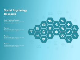 Social Psychology Research Ppt Powerpoint Presentation Professional Topics