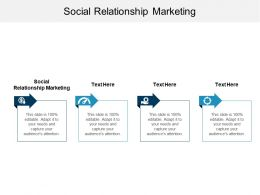 Social Relationship Marketing Ppt Powerpoint Presentation Gallery Good Cpb
