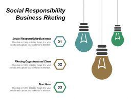 Social Responsibility Business Rketing Organizational Chart Creative Leadership Cpb