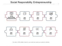 Social Responsibility Entrepreneurship Ppt Powerpoint Presentation Inspiration Graphics Template Cpb