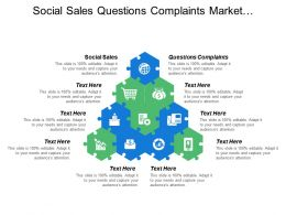 Social Sales Questions Complaints Market Information Customer Preferences