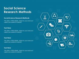 Social Science Research Methods Ppt Powerpoint Presentation Icon Graphic Tips