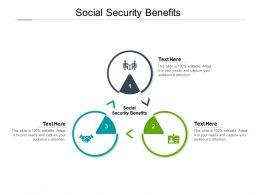 Social Security Benefits Ppt Powerpoint Presentation Outline Layouts Cpb