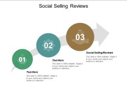 Social Selling Reviews Ppt Powerpoint Presentation Gallery Master Slide Cpb