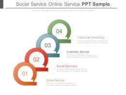 Social Service Online Service Ppt Sample