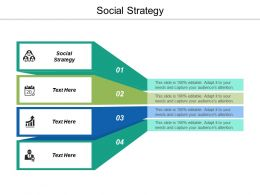 Social Strategy Ppt Powerpoint Presentation Ideas Structure Cpb
