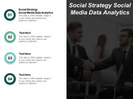 Social Strategy Social Media Data Analytics Ppt Powerpoint Presentation Styles Picture Cpb