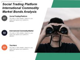 Social Trading Platform International Commodity Market Bonds Analysis Cpb