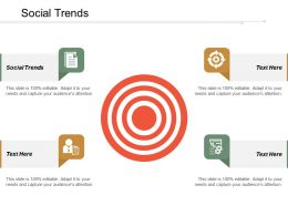Social Trends Ppt Powerpoint Presentation Icon Topics Cpb