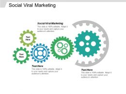Social Viral Marketing Ppt Powerpoint Presentation Ideas Template Cpb