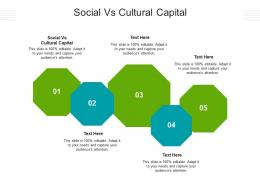 Social Vs Cultural Capital Ppt Powerpoint Presentation File Design Ideas Cpb