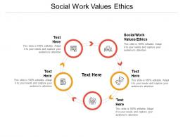Social Work Values Ethics Ppt Powerpoint Presentation Pictures Skills Cpb