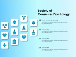 Society Of Consumer Psychology Ppt Powerpoint Presentation Images