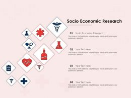 Socio Economic Research Ppt Powerpoint Presentation Visual Aids Professional