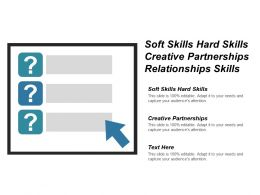 Soft Skills Hard Skills Creative Partnerships Relationships Skills Cpb