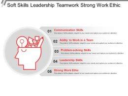 Soft Skills Leadership Teamwork Strong Work Ethic