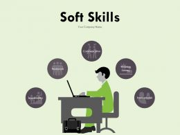 Soft Skills Ppt Infographics Background Designs Ability To Work In A Team