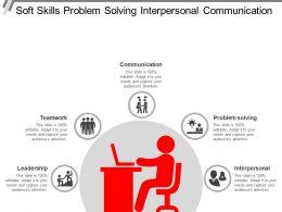 Soft Skills Problem Solving Interpersonal Communication