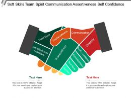 Soft Skills Team Spirit Communication Assertiveness Self Confidence