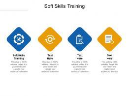 Soft Skills Training Ppt Powerpoint Presentation Model Aids Cpb