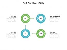 Soft Vs Hard Skills Ppt Powerpoint Presentation Ideas Diagrams Cpb