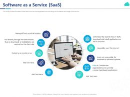 Software As A Service Saas Ppt Powerpoint Presentation File Layouts