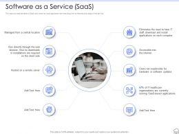 Software As A Service Server Ppt Powerpoint Presentation Ideas Slideshow