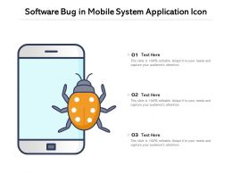 Software Bug In Mobile System Application Icon